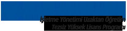 İşletme Yönetimi Uzaktan Öğretim Tezsiz Türkçe Lisans Programı